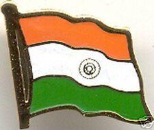 Republic of India Bharat Flag Lapel Hat Pin NEW