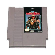 WCW WORLD CHAMPIONSHIP WRESTLING CLASSIC GAME SYSTEM NINTENDO NES HQ