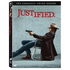 Justified - Series 3 - Complete (DVD, 2013, 3-Disc Set)