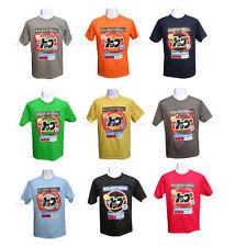 Mens Japanese Retro Super Washing Dry Powder T-shirt tshirt Manga Hentai New