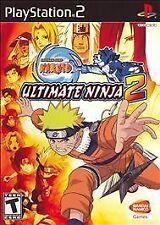 NARUTO ULTIMATE NINJA 2 PS2 PLAYSTATION 2 DISC ONLY