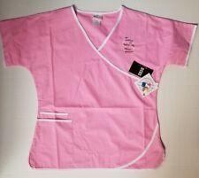 5f445da3fa6 St Louis Cardinals Scrub Dudz Breast Cancer Pink Top MLB Licensed CHOOSE SZ  NWT