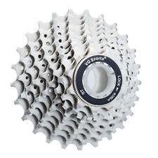 VG Sports 10 Speed 11-25T/28T/32T Road Bike Silver Cassette fit Shimano HG500 US