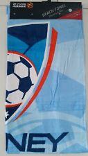 NEW GENUINE LICENSED A-LEAGUE SYDNEY FC BEACH TOWEL 150 x 75cm