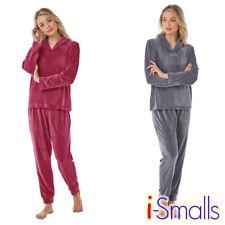 i-Smalls Ladies Ultra Soft Velour Pyjama Set with Hood