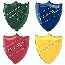 Prefect Shield Enamel Badges - Free Delivery