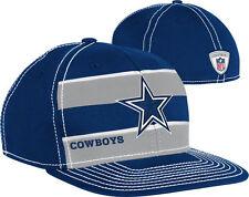 Dallas Cowboys NFL Player Sideline Scrimmage On Field Flat Visor Flex Hat Cap TX