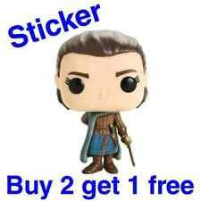 FUNKO POP! DELUXE: Game of Thrones - Arya Stark Assassin #76 [Sticker]