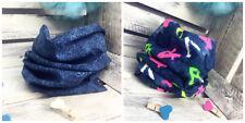 Kids Girl's / Boy's Scarf Shawl Cowl Snood Autumn Denim Blue ONE SIZE