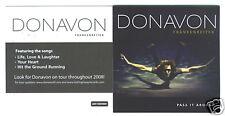 Donavon Frankenreiter - Pass It Around promo sticker