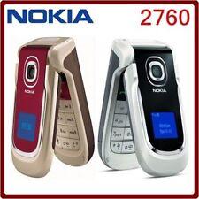 Original Nokia 2760 Flip Big Bottom Cell Phone 2G GSM 900 / 1800 CAMERA