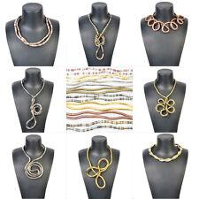 * Blogger Statement Biegsame Schlangenkette Kette Armband Snake Schlange biegbar