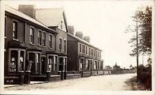 Knott End. Lancaster Road. Houses at left.