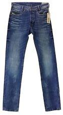 Diesel Jeans IAKOP Wash 0805Q Herren Hose Regular Gerades Bein blau Bequem