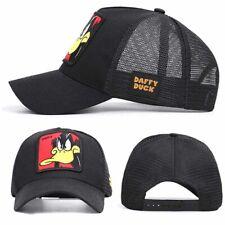 Men Summer Donald Duck Mesh Snapback Cap Women Embroidery HipHop Trucker Dad Hat