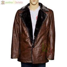 On sale 20% Discount X-Men Origins Wolverine Brown Waxed Leather Winter Coat