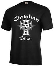 Christian T-Shirt Christian Bikers Ride for Christ