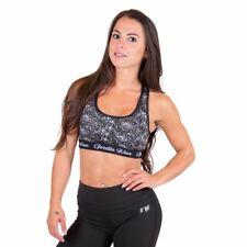 Gorilla Wear Hanna Sports Bra – Black/White fitness musculation
