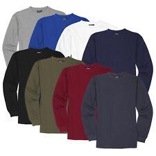 Langarmshirt Herren Longsleeve T-Shirt Langarm Rundhals ADAMO bis Übergröße 12XL
