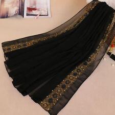 Pearl Scarf Hijab Maxi Large Shawl Cape Sarong Wrap