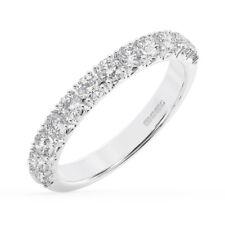 0.60Carat Round Brilliant Cut Diamonds Half Eternity Wedding Ring in 950Platinum
