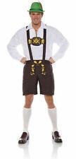 Lederhosen Bavarian German Oktoberfest Beer Guy Ricola Men's Costume STD-XXL