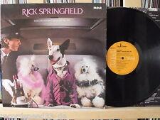 "★★ 12"" LP-Rick Springfield-success hasn 't spoiled me yet-OIS"