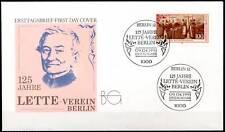 BRD 1991: Lette-Verein! FDC der Nr. 1521! 1A erhalten!