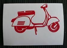 adesivo vespa auto moto scooter wall vetro sticker decal vynil piaggio