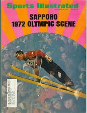 SAPPORO 1972 OLYMPICS SPORTS ILLUSTRATED MAGAZINE NOVEMBER 15, 1971