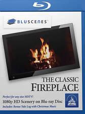 The Classic Fireplace Blu-ray Shot on RO Bonus Content Yule Log/Christmas Music