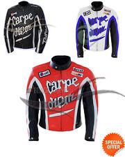 carpe diem chaqueta de la chaqueta de cuero cuero de la moto cualquier tamaño