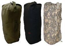Nuevo Kit de estilo del ejército de Estados Unidos Hombro Bolsa De Lona Mar saco Ruck Saco Mochila