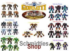 Gormiti Titanium-seleccione sus personajes!