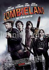 Zombieland Movie Film Poster A2 A3 A4