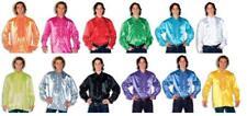 Hemd Rüschenhemd Kostüm Herren Hippie Party Disco Rüschen Hippy Partyhemd Satin