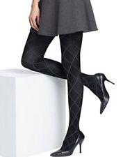Hanes Women's Tights Argyle Black Tights S, M, Tall