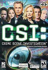 CSI: Crime Scene Investigation - PC Ubisoft Video Game