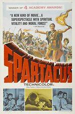 SPARTACUS Movie Poster 1960 Stanley Kubrick Lawrence Olivier
