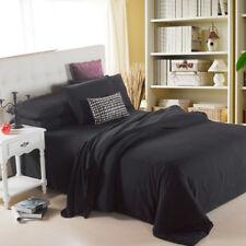 3D Black Plain Boy 60 Bed Pillowcases Quilt Duvet Cover Set Single Queen King CA