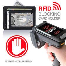 Soft Genuine Leather Mens Compact Slim Wallet Card Holder Pocket for Travel
