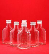 GLASFLASCHEN 100/200 ml Likör-Flasche Schnapsflasche Flasche-leer Flaschen Tasch