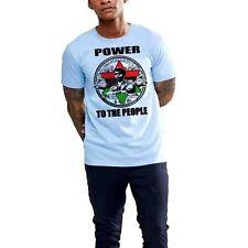 Black History Month T-Shirt, Black Panthers That Melanin Though, Raised Fist Men