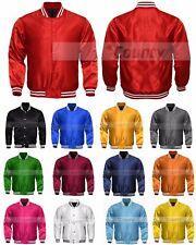 Letterman Baseball College Varsity Satin Bomber Super Quality Jacket Sports Wear