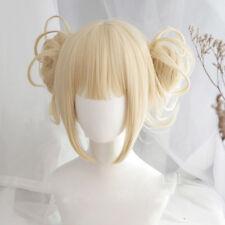 My Boku no Hero Academia Himiko Toga Light Blonde Ponytail Cosplay Wig  Anogol