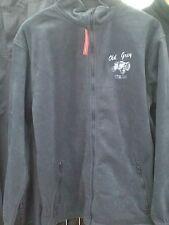 Ferguson Grey Fleece Jacket with Fergie Tractor logo - Adults Large