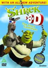 Shrek 3D The Story Continues DVD 2-Disc Set KIDS CHILDREN FAMILY FUN NR look