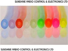 Nitro Glow Engine Silicone Fuel Line 2.3mm I.D. Fuel Pipe Tube Hose 9 Colours PL