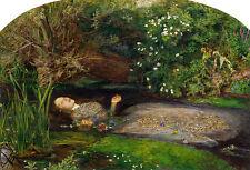 John Everett Millais Ophelia Vintage Print
