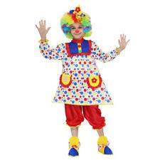 PAGLIACCETTA costume CARNEVALE bambina completo  tg. 7/8 anni PEGASUS srl
